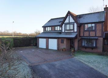 Thumbnail 5 bedroom detached house for sale in Nigel Gresley Close, Crewe