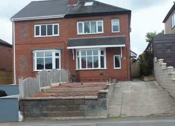 Thumbnail 4 bed semi-detached house for sale in Leek New Road, Sneyd Green, Stoke-On-Trent