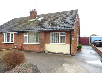 Thumbnail 3 bed semi-detached bungalow for sale in Charles Avenue, Laceby, Grimsby