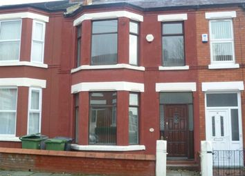 Thumbnail 3 bed terraced house to rent in Broughton Road, Wallasey, Wirral