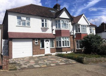 Thumbnail 6 bed semi-detached house for sale in Toley Avenue, Wembley, Middlesex