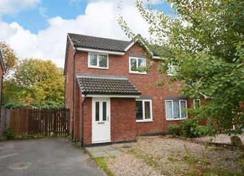 Thumbnail 3 bed semi-detached house for sale in Haslington Road, Peel Hall, Manchester
