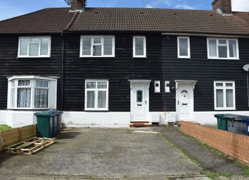 Thumbnail 4 bedroom terraced house to rent in Montrose Avenue, Burnt Oak, Edgware