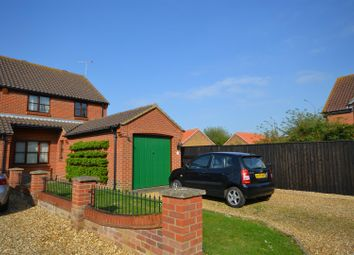 Thumbnail 3 bed semi-detached house for sale in Williman Close, Heacham, King's Lynn