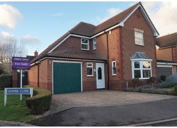 Thumbnail 4 bed detached house for sale in Glover Close, Warwick