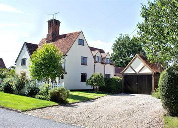 Thumbnail 3 bed semi-detached house for sale in Little Easton, Dunmow, Essex