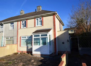 Thumbnail 2 bedroom semi-detached house for sale in Brentford Avenue, Plymouth, Devon