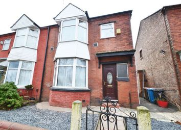 Thumbnail 3 bed semi-detached house to rent in Delamere Avenue, Salford
