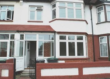 Thumbnail 3 bed terraced house to rent in Holcombe Road, London