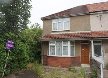 Thumbnail 3 bed end terrace house for sale in Woodley Road, Southampton