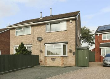 Thumbnail 2 bed semi-detached house for sale in Ballerat Crescent, Heron Ridge, Nottingham