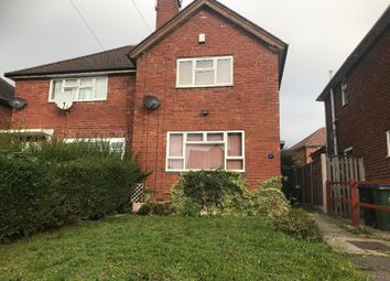 Thumbnail 2 bedroom semi-detached house to rent in Canterbury Road, West Bromwich, West Midlands