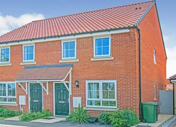 Thumbnail 2 bed semi-detached house for sale in Buckenham Road, Aylsham, Norwich