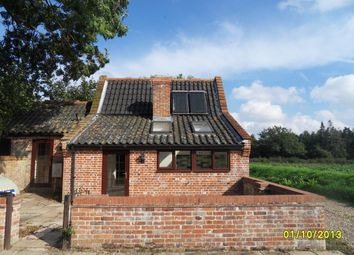 Thumbnail 2 bedroom barn conversion to rent in Norwich Road, Hedenham, Bungay