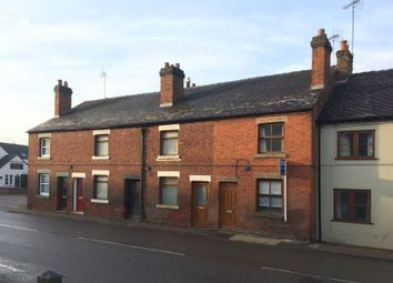 Thumbnail 2 bed terraced house for sale in Castle Street, Eccleshall, Staffordshire