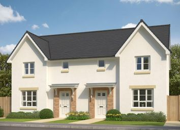 "Thumbnail 3 bed semi-detached house for sale in ""Craigend"" at Salters Road, Wallyford, Musselburgh"