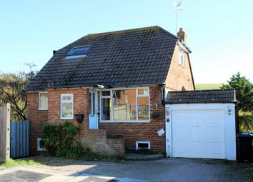 Thumbnail 4 bed detached house for sale in Burnham Close, Woodingdean