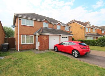 Thumbnail 3 bed semi-detached house to rent in Hillesden Avenue, Elstow, Bedford