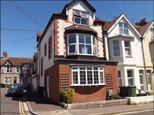 Thumbnail 1 bed flat to rent in Windsor Road, Bexhill On Sea East Sussex