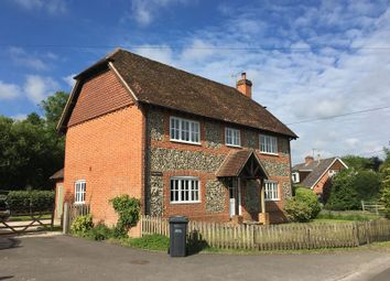 Thumbnail 5 bed detached house to rent in Southside Road, Longparish, Andover