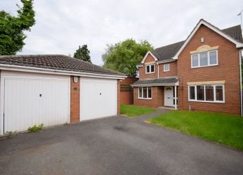 Thumbnail 4 bed detached house to rent in Siskin Close, Mickleover, Derby