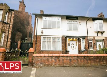 Thumbnail 4 bed terraced house for sale in Queens Drive, Liverpool