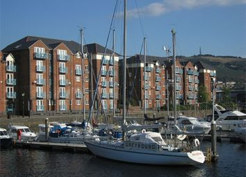 Thumbnail 2 bed flat to rent in Weavers House, Maritime Quarter, Swansea, West Glamorgan