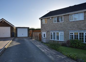 Thumbnail 3 bed semi-detached house for sale in Hawthorne Close, Flockton, Wakefield, West Yorkshire