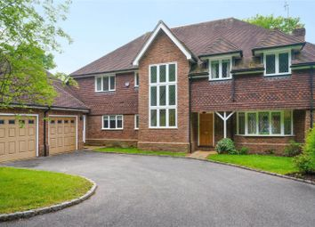 Thumbnail 5 bed detached house for sale in Englemere Park, Oxshott, Leatherhead, Surrey