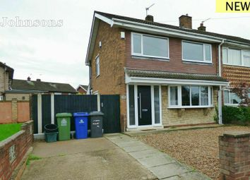 Thumbnail 3 bedroom semi-detached house for sale in Windermere Crescent, Kirk Sandall, Doncaster.