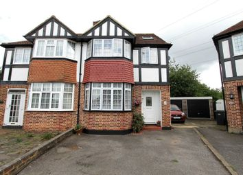 Thumbnail 4 bed semi-detached house for sale in Portland Avenue, New Malden
