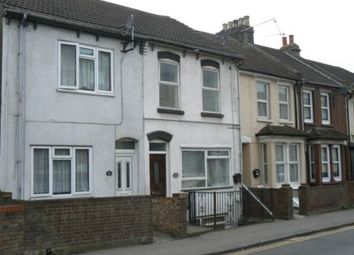 Thumbnail 1 bed terraced house to rent in Luton Road, Chatham