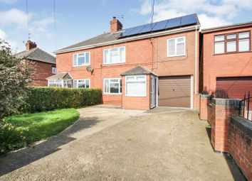 Thumbnail 4 bed semi-detached house for sale in South View Avenue, Burringham, Scunthorpe