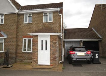 Thumbnail 2 bed semi-detached house for sale in Denham Vale, Rayleigh