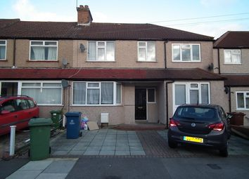 Thumbnail 3 bed terraced house to rent in Carmelite Road, Harrow Weald