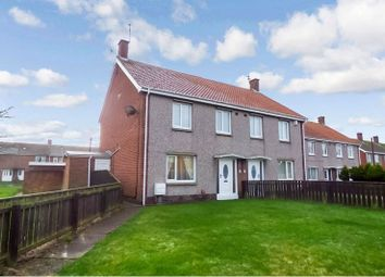 Thumbnail 3 bed semi-detached house to rent in Bolam Drive, Ashington