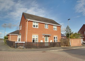 Thumbnail 3 bed detached house for sale in Cavalry Close, Melton Mowbray