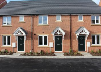 Thumbnail 2 bed terraced house for sale in Windsor Way, Broughton Astley, Leicester