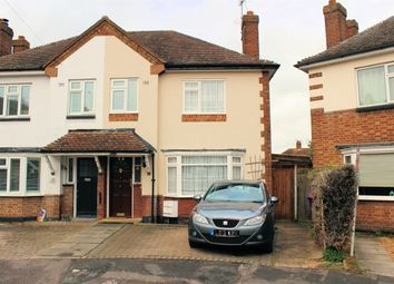 Thumbnail 3 bed semi-detached house for sale in Wilton Road, Hitchin, Hertfordshire