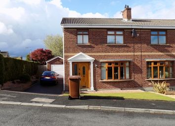 Thumbnail 3 bed semi-detached house to rent in 8 Highgrove, Ravarnet, Lisburn