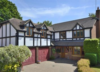 Thumbnail 5 bed detached house for sale in Connaught Drive, Weybridge, Surrey