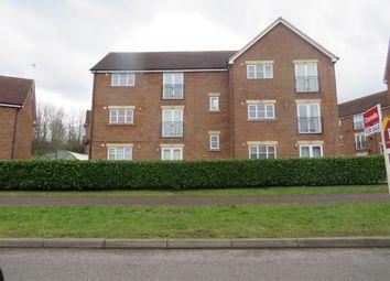 Thumbnail 2 bed flat for sale in Otterburn Crescent, Oakhill, Milton Keynes