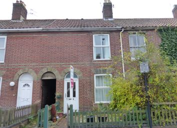 Thumbnail 2 bedroom terraced house for sale in Magpie Road, Norwich