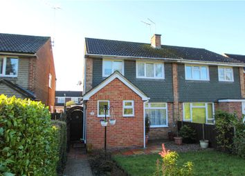 Thumbnail 3 bed semi-detached house for sale in Hewlett Place, Bagshot, Surrey