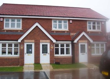 Thumbnail 2 bed town house to rent in Wakelam Drive, Armthorpe, Doncaster