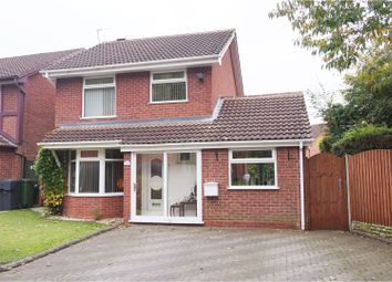 Thumbnail 3 bed detached house for sale in Badger Way, Bromsgrove
