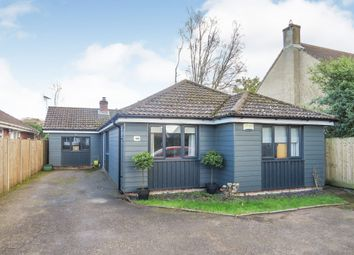 Thumbnail 5 bedroom detached bungalow for sale in Church Road, Three Legged Cross, Wimborne
