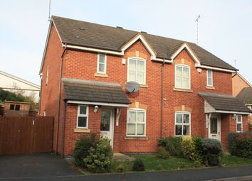 Thumbnail 3 bed semi-detached house to rent in Honeychurch Close, Redditch