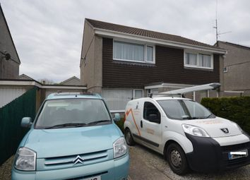 Thumbnail 2 bed semi-detached house for sale in Polstain Road, Threemilestone, Truro
