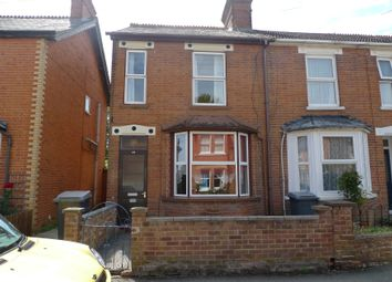 Thumbnail 3 bed end terrace house to rent in Gloucester Road, Newbury